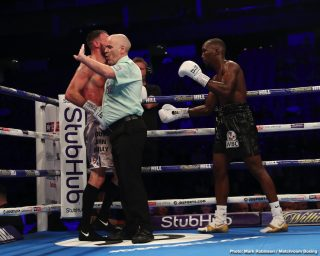 Denis Radovan - Abass Baraou (8-0, 5 KOs) defended his WBC International Super Welterweight title with a sensational sixth round technical knockout over John O'Donnell (33-3, 11 KOs) on the same night Denis Radovan (13-0-1, 6 KOs) was victorious over Luke Blackledge (26-9-2, 9 KOs) on the World Boxing Super Series undercard at The 02, London.
