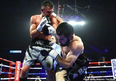 Artur Beterbiev Kudratillo Abdukakhorov Luis Collazo Oleksandr Gvozdyk Boxing News Boxing Results Top Stories Boxing