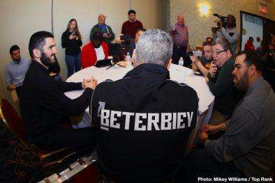 Artur Beterbiev ESPN Kudratillo Abdukakhorov Luis Collazo Oleksandr Gvozdyk Boxing News