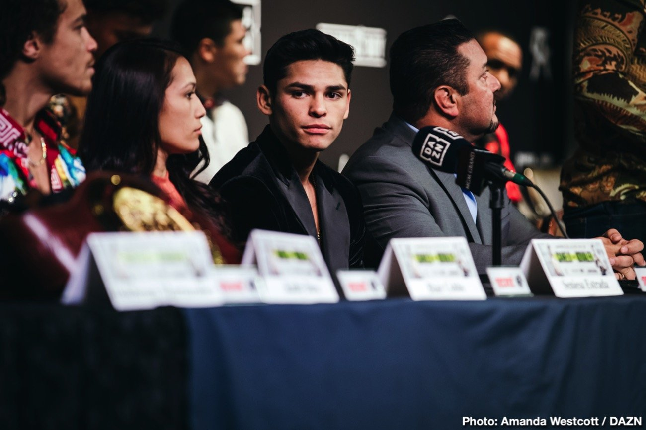 "Luke Campbell, Ryan Garcia - Ryan 'Kingry' Garcia says they'll be announcing his next fight against Luke Campbell ""soon"". The deal isn't done yet, but it's believed that it's going to be happening in the fall."