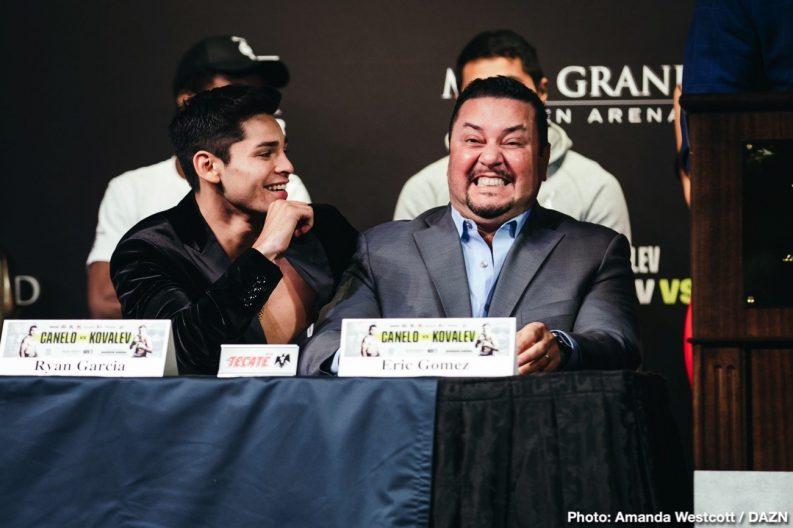 "Blair Cobbs DAZN Romero Duno Ryan Garcia Saul ""Canelo"" Alvarez Sergey Kovalev Boxing News"