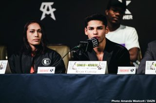 Luke Campbell - Golden Boy Promotions has received an offer from Matchroom for Ryan Garcia to face Luke Campbell in the WBC ordered fight for the interim lightweight belt. Oscar De La Hoya was waiting for the proposal from Matchroom, and now he has it.