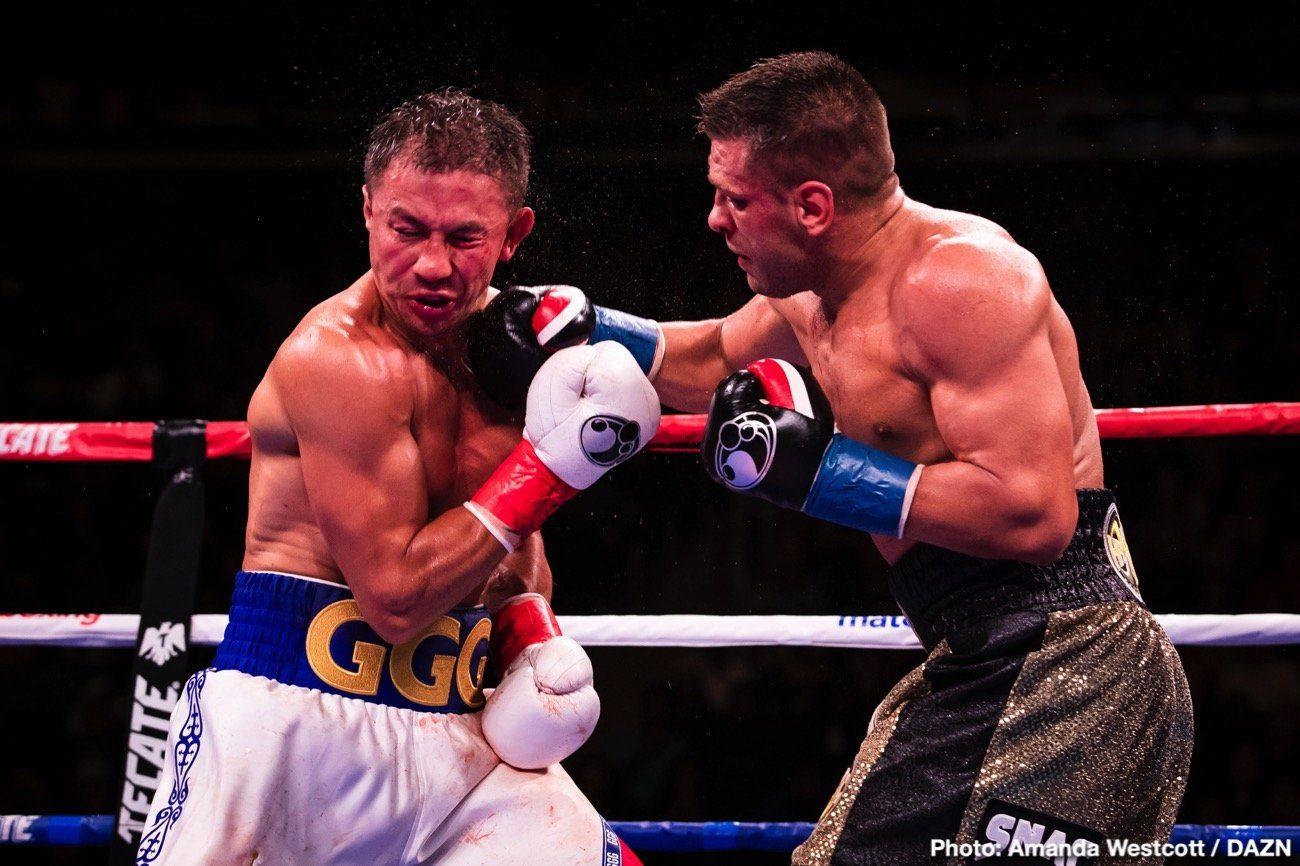 Canelo Alvarez DAZN Gennadiy Golovkin Boxing News