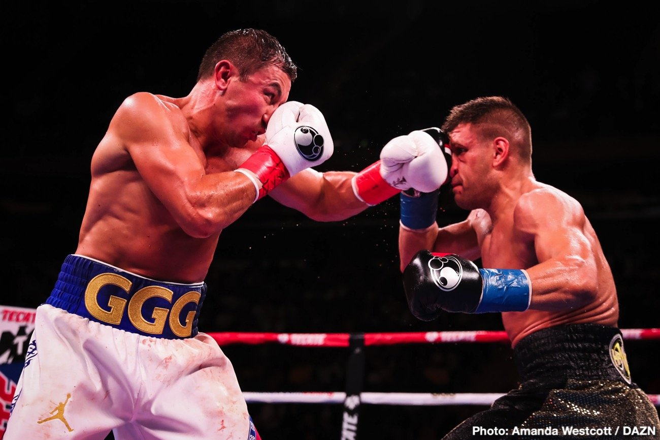 Gennadiy Golovkin - It's abundantly clear that the one thing Gennady Golovkin is in need of after his gruelling, arguably career-toughest fight with Sergiy Deverayanchenko, is a good, long rest. In fact, it's probable that we will not see GGG back in action until May of next year; sensible, too. But who will Triple-G fight next? Indeed, who will GGG fight as he sees out the remaining four fights of his six-fight deal with DAZN?