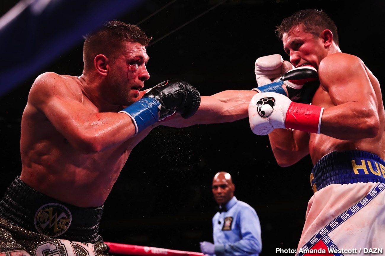 DAZN Gennadiy Golovkin Johnathon Banks Sergiy Derevyanchenko Boxing News