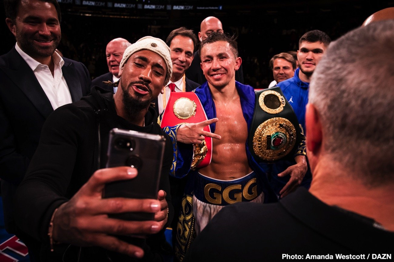 """Gennadiy Golovkin, Kamil Szeremeta - It looks as though there will be two big (or biggish) fights taking place on the night of November 21. As fans know, Errol Spence will make his ring return against Danny Garcia that night; Spence having his first fight back since suffering that nasty, it could have been fatal, car smash in October. Now, as per a tweet from boxing writer Mike Coppinger, the delayed Gennady Golovkin-Kamil Szeremeta fight is """"being targeted for Nov. 21 on DAZN."""""""