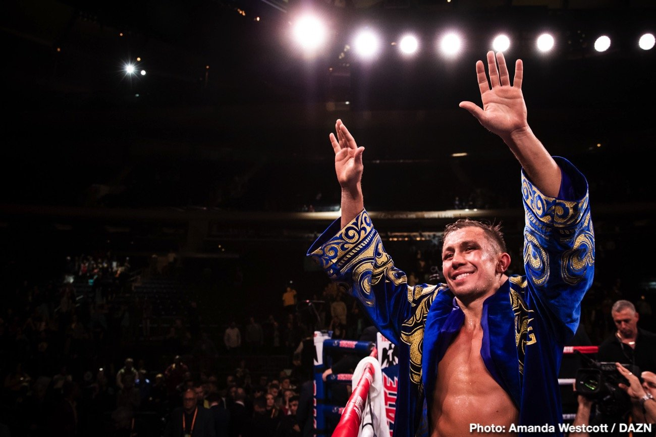 Golovkin will be turning 38 next month on April 8, and he's coming off of arguably his worst performance of his career against Sergiy Derevyanchenko on October 5 last year. GGG did win the fight by a 12 round unanimous decision, but the boxing public is split in who they saw winning the contest.