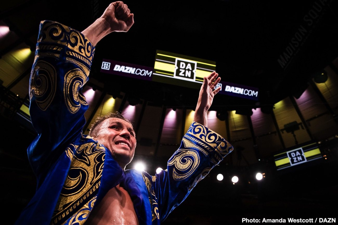 Gennadiy Golovkin, Kamil Szeremeta - IBF middleweight champion Gennadiy 'GGG' Golovkin will be returning to the ring next month to face his mandatory Kamil Szeremeta (21-0, 5 KOs) on DAZN. Golovkin-Szeremeta will be Golovkin's third fight of his lucrative six-fight contract with the streaming giant DAZN.