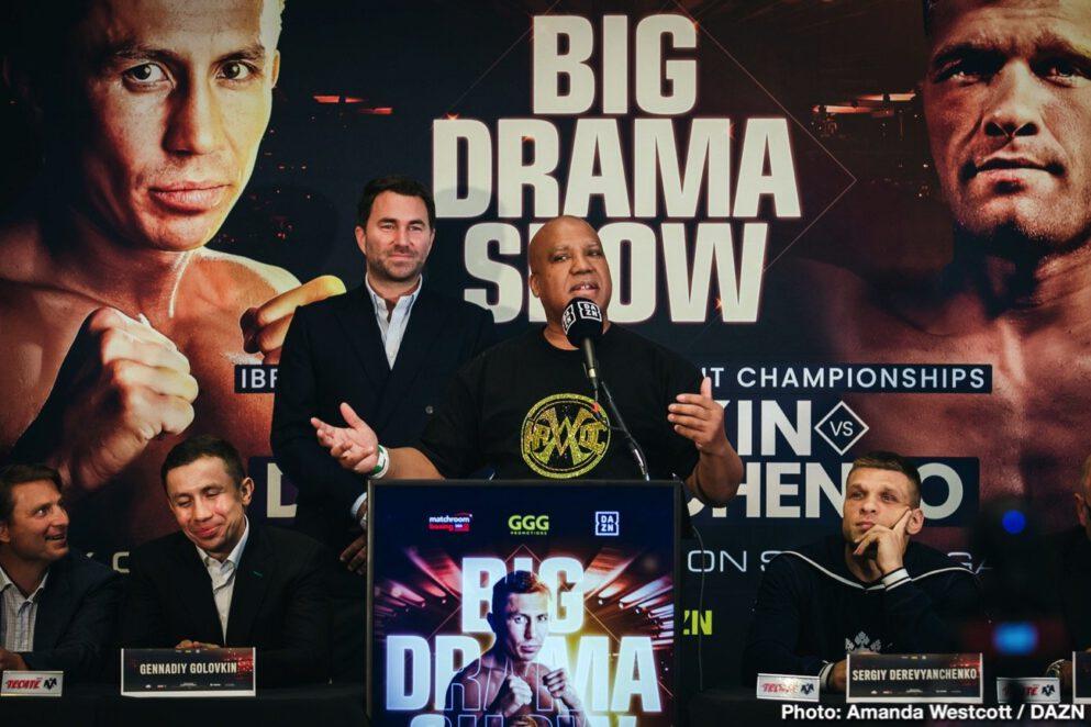 Gennady Golovkin, Sergiy Derevyanchenko - Boxing News