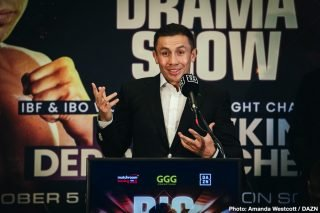 Kamil Szeremeta - In the latest Gennadiy 'GGG' Golovkin news, his IBF mandatory defense against obscure fighter Kamil Szeremeta is potentially being moved to April 11 in Kazakhstan, according to ESPN.
