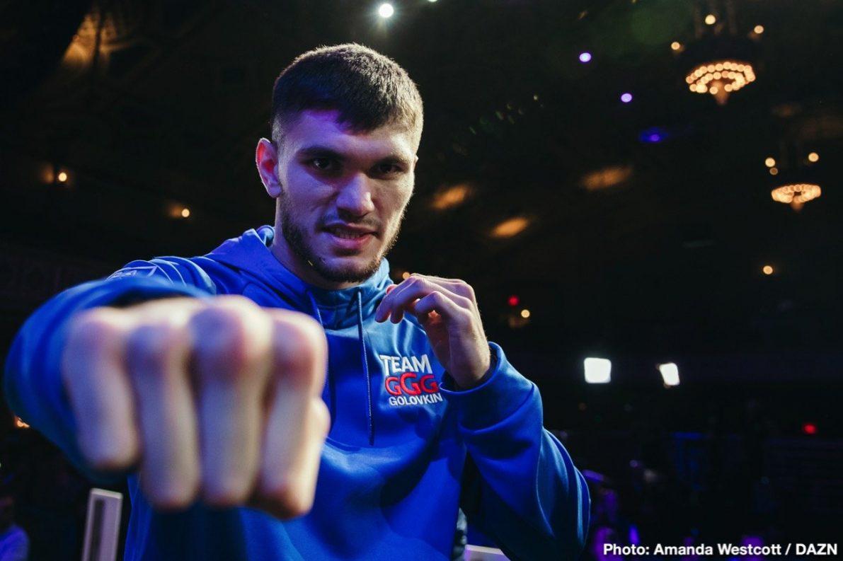 DAZN Gennady Golovkin Sergiy Derevyanchenko Boxing News