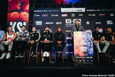 Billy Joe Saunders KSI Logan Paul Marcelo Esteban Coceres Boxing News British Boxing