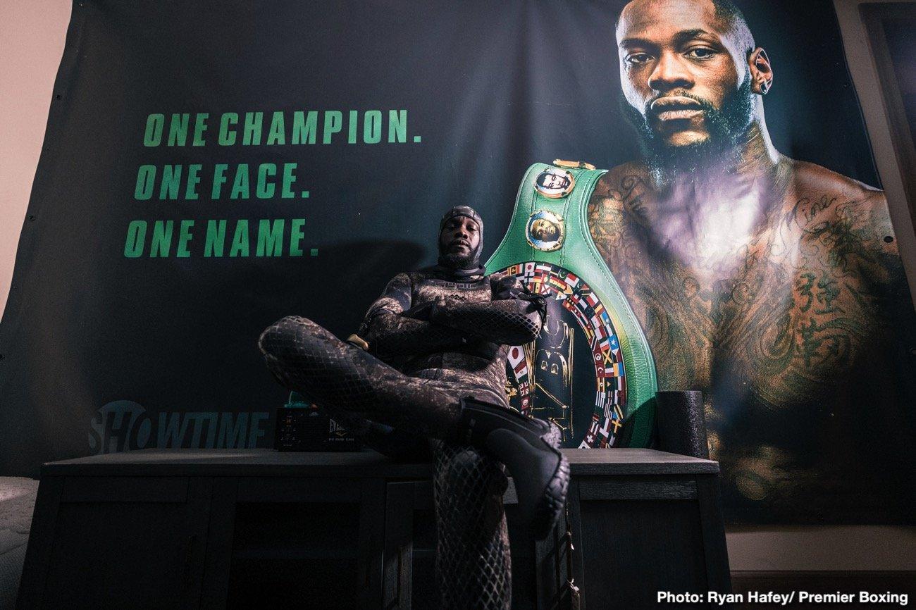 Deontay Wilder, Fox Sports PPV, Luis Ortiz - Boxing News