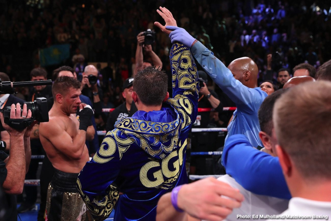 Gennadiy Golovkin, Manny Pacquiao, Shakur Stevenson - Shakur Stevenson likes the idea of Manny Pacquiao moving up two weight classes to take on middleweight champion Gennadiy Golovkin. This is a winnable fight for Pacquiao (62-7-2, 39 KOs) over the still powerful 38-year-old GGG, according to Stevenson.