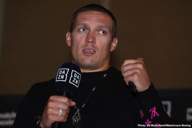 Aleksandr Usyk Chazz Witherspoon