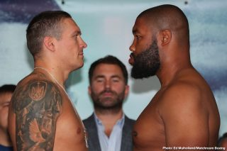 Oleksandr Usyk - As fans know, Oleksandr Usyk tonight takes the first step in what he hopes will be a campaign that ends with him as world heavyweight champion. Usyk, who has finally settled on veteran Chazz Witherspoon after seeing two or three other possible foes fall by the wayside, will try and emulate his hero, the great Evander Holyfield.