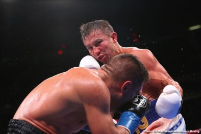 Gennadiy Golovkin Sergey Derevyanchenko Boxing News Boxing Results Top Stories Boxing