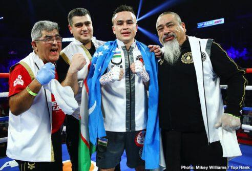 Artur Beterbiev, Kudratillo Abdukakhorov, Luis Collazo, Oleksandr Gvozdyk - Boxing News