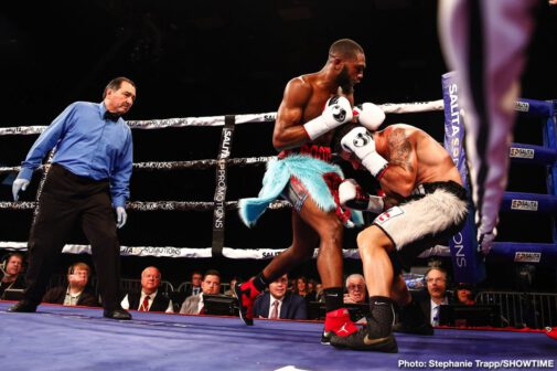 Unbeaten welterweight Jaron Ennis scored yet another knockout in his return to national television Saturday on SHOWTIME with a third round TKO of Demian Fernandez at Dort Federal Credit Union Event Center in Flint, Mich.