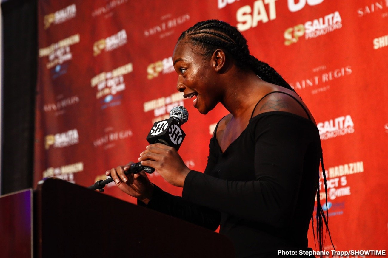 Claressa Shields -  Salita Promotions wishes to congratulate undefeated two-division world champion Claressa Shields for being named the 2019 Individual Sportswoman of the Year by the Women's Sports Foundation at their 40th Annual Salute to Women in Sports event hosted Wednesday evening.