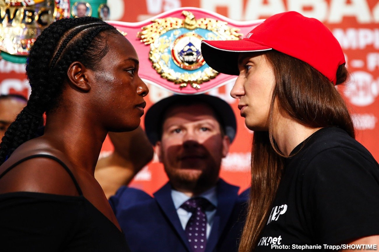 Claressa Shields - The long-awaited showdown between undisputed middleweight world champion Claressa Shields and former champion Ivana Habazin has been rescheduled for Friday, January 10 live on SHOWTIME from Ocean Casino Resort in Atlantic City, N.J. Shields and Habazin will face off for the vacant WBC and WBO 154-pound world titles as Shields attempts to make history as the fastest fighter in boxing, male or female, to become a three-division world champion.