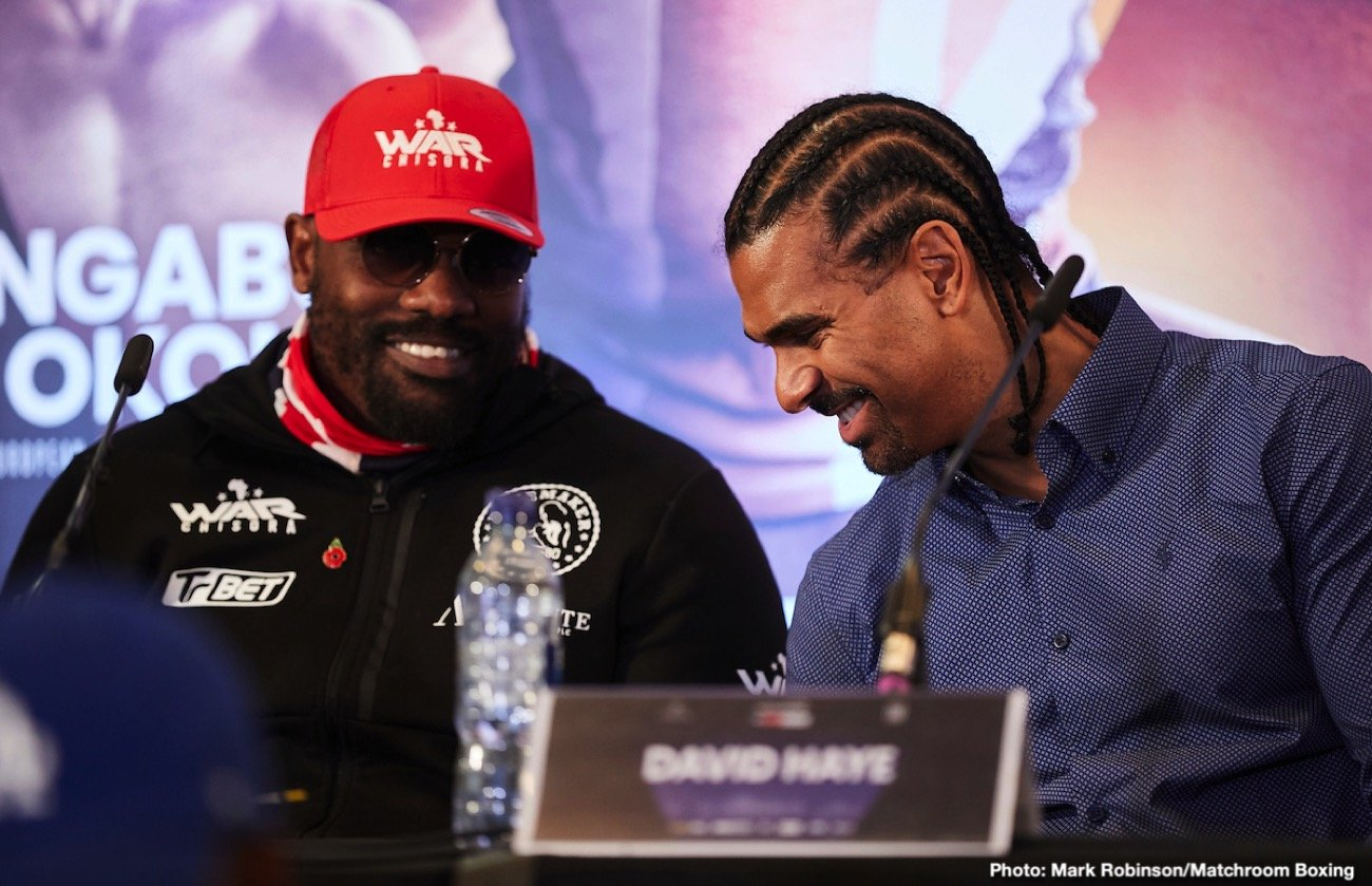 "Lennox Lewis - Former heavyweight and cruiserweight champ David Haye was a guest on the BBC podcast ""Greatest Fights,"" with Steve Bunce and Mike Costello, and Haye listed his top-five greatest heavyweights from history. The subject of Mike Tyson came up (of course it did; Tyson hot news right now due to his 'will he, won't he' comeback) and though Haye places Tyson in the top-10 best ever heavyweights, he explained why he does not put Tyson in his top-five."