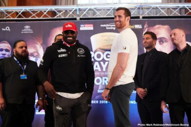 Derek Chisora - Finchley, England - 31-9, 22 KOs – fighting David Price for the vacant WBO Inter-Continental Heavyweight title: