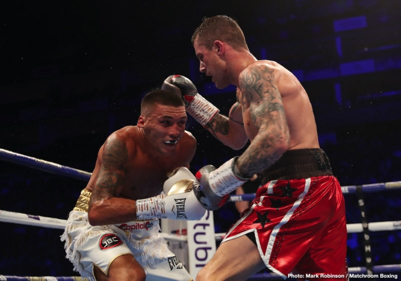Lee Selby Ricky Burns Boxing News Boxing Results British Boxing