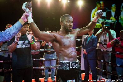 Demond Nicholson Boxing News