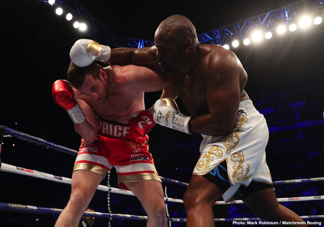 Alexander Usyk, Derek Chisora - Dereck Chisora says he's not going to lose to Oleksandr Usyk on Saturday night in their fight at the Wembley Arena in London, England.