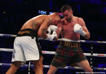Josh Taylor, Regis Prograis - Last night's 140 pound unification battle between unbeatens Josh Taylor of Edinburgh, Scotland and Regis Prograis of New Orleans, USA had it all and the modern day classic has to be placed up there with the great ones. The fight, one that saw the two best at the weight meeting whilst in their primes, with so much on the line – two world titles, three including the Ring belt, and the prestigious Muhammad Ali Trophy – gave us so much. The fight between the two southpaws had switching momentums, an abundance of skill, an incredible pace, blood and guts and, at the end, admirable sportsmanship.