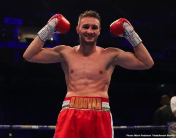 Abass Baraou, Denis Radovan - Abass Baraou (8-0, 5 KOs) defended his WBC International Super Welterweight title with a sensational sixth round technical knockout over John O'Donnell (33-3, 11 KOs) on the same night Denis Radovan (13-0-1, 6 KOs) was victorious over Luke Blackledge (26-9-2, 9 KOs) on the World Boxing Super Series undercard at The 02, London.