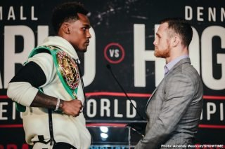 Dennis Hogan - Undefeated WBC Middleweight World Champion Jermall Charlo will defend his title against highly-ranked contender Dennis Hogan Saturday, December 7 live on SHOWTIME from Barclays Center, the home of BROOKLYN BOXING™, in an event presented by Premier Boxing Champions.