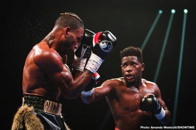 Adrian Granados Erickson Lubin Nathaniel Gallimore Robert Easter Boxing News Boxing Results