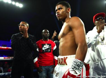 Joet Gonzalez, Shakur Stevenson - Shakur Stevenson is a world champion. The former Olympic medalist displayed all his boxing skills and completely neutralized Joet Gonzalez (his girlfriend's brother) to conquer the vacant World Boxing Organization (WBO) featherweight title in front of 2,828 fans at the Reno-Sparks Convention Center.