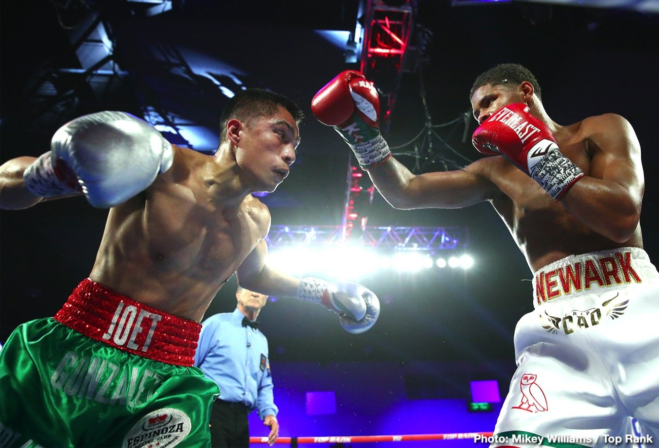 Joet Gonzalez - Three homegrown Golden Boy fighters will make their ring returns after challenging for a world title on the March 19 edition of Golden Boy and DAZN's Thursday Night Nights at Avalon Hollywood. The event will be streamed live on DAZN, RingTV.com and on Facebook Watch via the Golden Boy Fight Night Page beginning at 10:00 p.m. ET/7:00 p.m. PT.