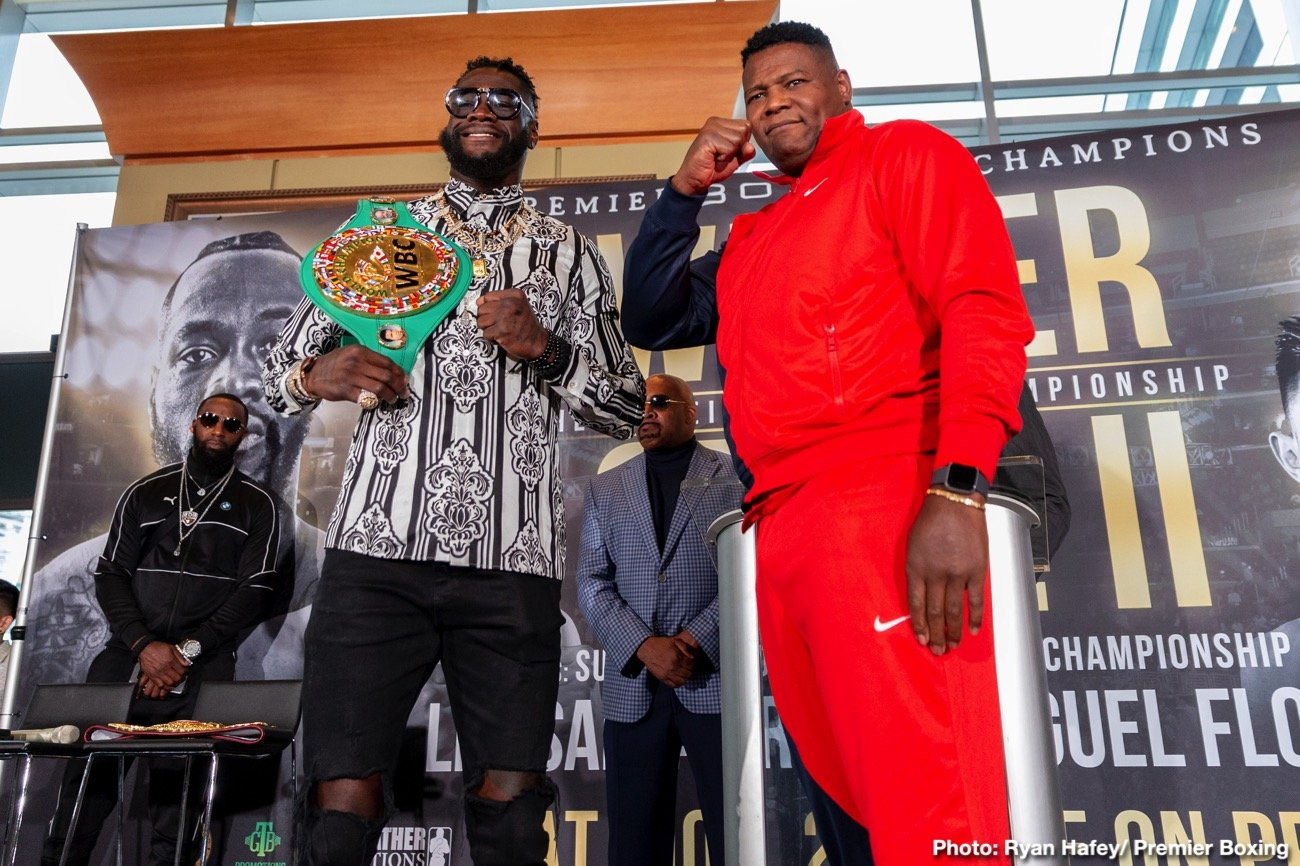"Deontay Wilder, Luis Ortiz - Today, FOX Sports announces former two-time welterweight champion Shawn Porter and four-time champion Abner Mares join International Boxing Hall of Famer Ray ""Boom Boom"" Mancini and host Kate Abdo for FOX SPORTS PBC PPV: DEONTAY WILDER VS. LUIS ORTIZ programming Wednesday, Nov. 20, Friday, Nov. 22 and Saturday, Nov. 23."