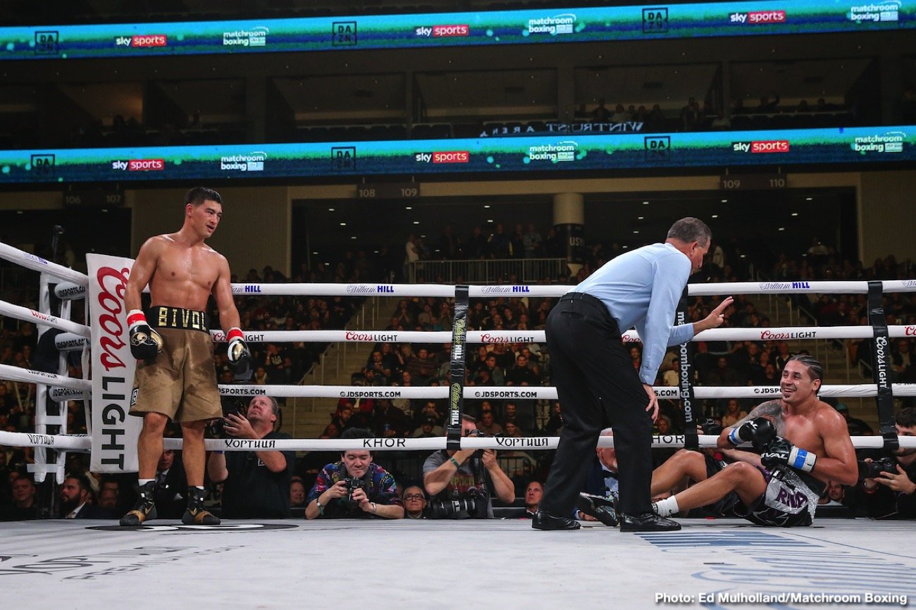 Dmitry Bivol - Chicago, IL (October 12, 2019) WBA Light Heavyweight World Champion Dmitry Bivol, (17-0, 11 KOs), dominated Dominican challenger Lenin Castillo, (20-3-1, 15 KOs), over 12-rounds enroute to a unanimous decision at Chicago's Wintrust Arena on Saturday night.