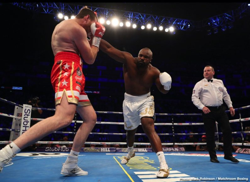 David Price Dereck Chisora Josh Taylor Lee Selby Regis Prograis Ricky Burns Boxing News Boxing Results Top Stories Boxing