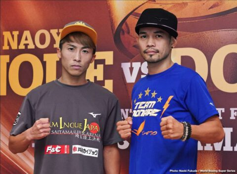 "Naoya Inoue, Nonito Donaire - Inoue at final press conference: ""I want to be the greatest of all time!"""