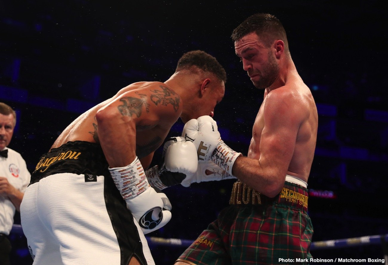 Josh Taylor - Talk about a red-hot, guaranteed action fight/war/battle of skills fight for 2020: Josh Taylor Vs. Jose Ramirez, for all the marbles at 140 pounds. This match-up, one that Taylor called for as soon as the dust settled after his winning classic with Regis Prograis on Saturday night, might just be The fight of next year. If it happens. We all hope it will happen.