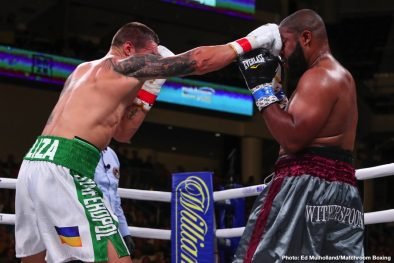 Chazz Witherspoon Dmitry Bivol Lenin Castillo Oleksandr Usyk Boxing News Boxing Results
