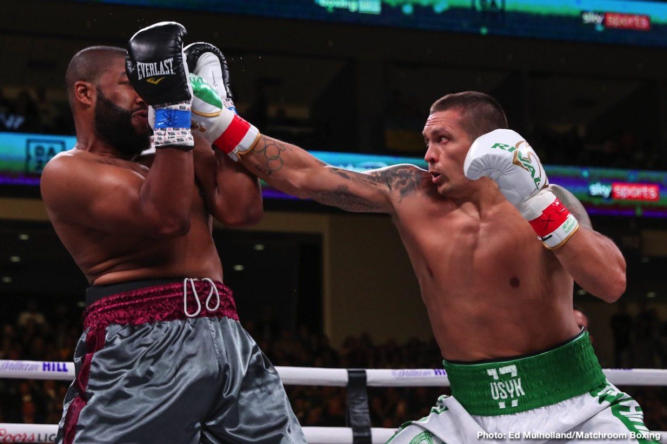 Andy Ruiz Anthony Joshua Oleksandr Usyk Boxing News