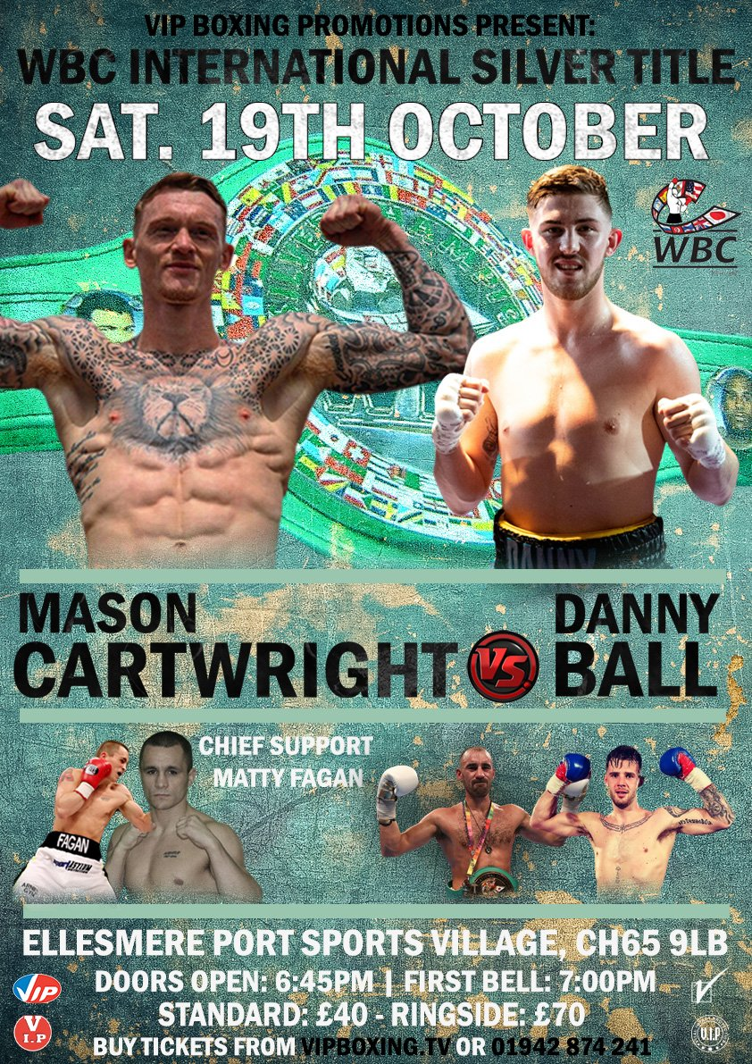 Danny Ball Mason Cartwright