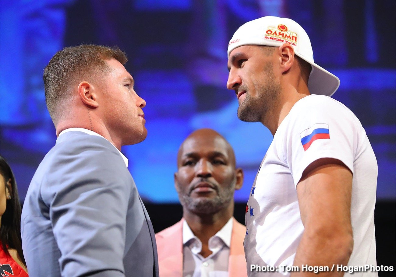 Canelo Alvarez, Sergey Kovalev - This Saturday night Saul 'Canelo' Alvarez challenges Sergey'The Krusher' Kovalev from the MGM Grand Garden Arena in Las Vegas, Nevada streaming live on DAZN. Is Alvarez catching Sergey Kovalev at the perfect time late in his career or will size matter? The fundamentals generally standout in fights involving weight jumps so the jab will be need for both men.