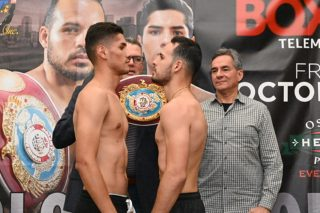 """Antonio Moran - Miami, Fla: Boxeo Telemundo returns with it's 30th anniversary fall series featuring a classic battle between Puerto Rico and Mexico. Unbeaten WBO #8 Jr welterweight contender Yomar """"The Magic"""" Alamo(17-0 12 KO's) of Aguas Buenas faces Mexican City's Antonio """"Toño"""" Moran Escobar(24-4 17 KO's) 10 Rounds for the WBO/NABO title.The bout will take place at the Osceola Heritage Park Events Center in Kissimmee, Florida."""