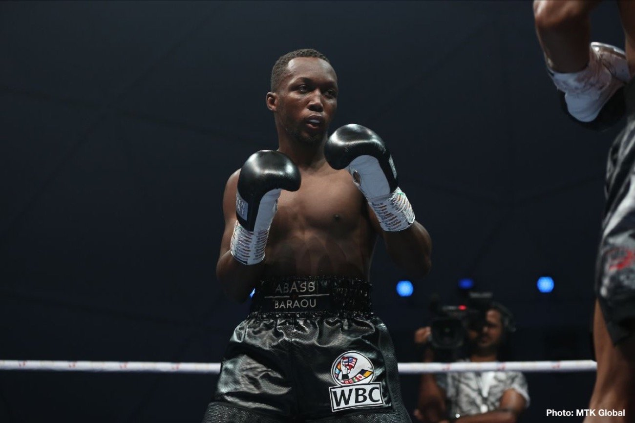 Abass Baraou, Jack Culcay - Team Sauerland's exciting super welterweight contender Abass Baraou (9-0, 6 KOs) will challenge former World Champion Jack Culcay (28-4, 13 KOs) in a mouth watering 50/50 clash on August 28th at the Harvel Studios in Berlin.