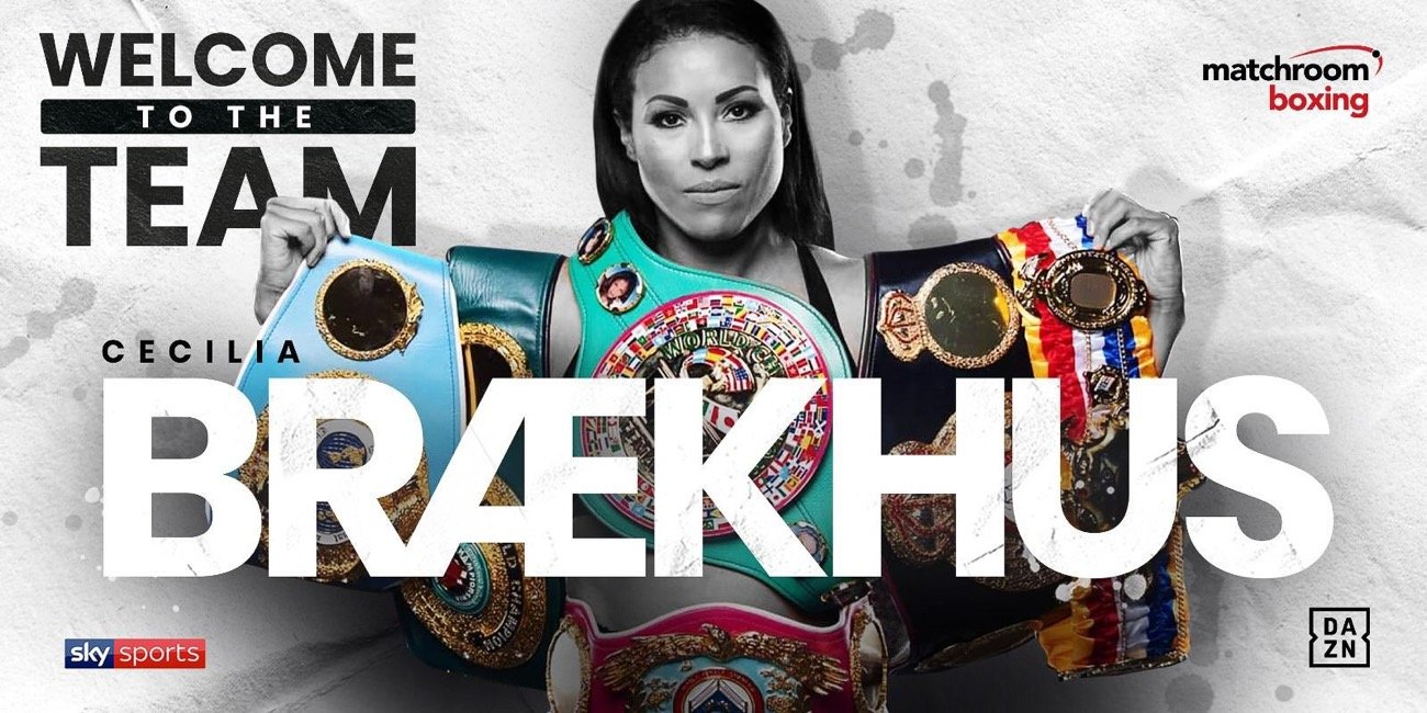 Cecilia Braekhus - Matchroom Boxing are delighted to announce the signing of Undisputed World Female Welterweight Champion Cecilia Braekhus on a multi-fight deal.