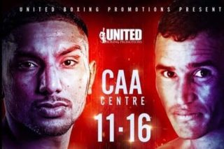 Hector Carlos Santana, Sukhdeep Singh Chakria - On Saturday, November 16, United Boxing Promotions proudly presents the return of Sukhdeep Singh Chakria (6-0-0, 2KOs) of Chakar, India, via Ajax, Ontario, against heavy-handed, 35-fight veteran Hector Carlos Santana (26-9-0, 20KOs) of San Miguel, Argentina, in a ten-round middleweight clash for the vacant IBA International Championship at the CAA Centre in Brampton, Ontario. Chakria is fresh off a dominant victory over Santana's countryman and WBO Latino titlist David Ezequiel Romero (11-10-1, 5KOs) in September, scoring a shutout unanimous decision in his first eight round appearance.