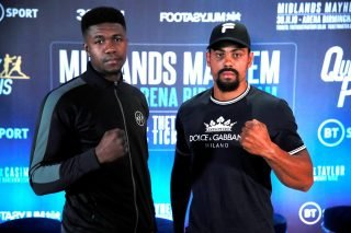 Lennox Clarke - LENNOX CLARKE IS promising to 'steamroller' Lerrone Richards when the pair meet at Arena, Birmingham on November 30 with the British and Commonwealth titles at stake.